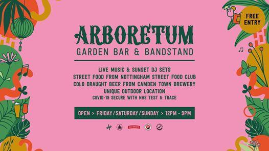 Nottingham Arboretum Garden Bar & Bandstand