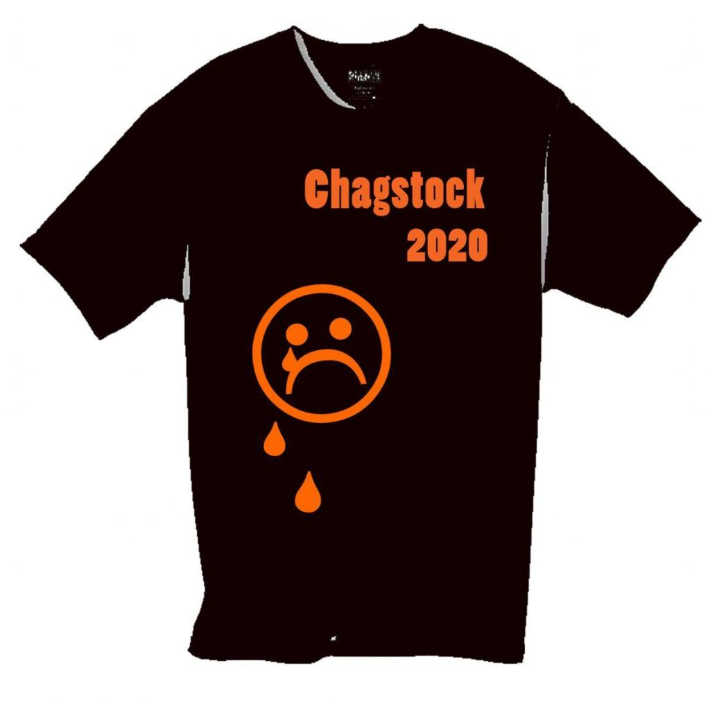 We now have some t-shirts for the non-event Chagstock 2020, as shown on the virt...