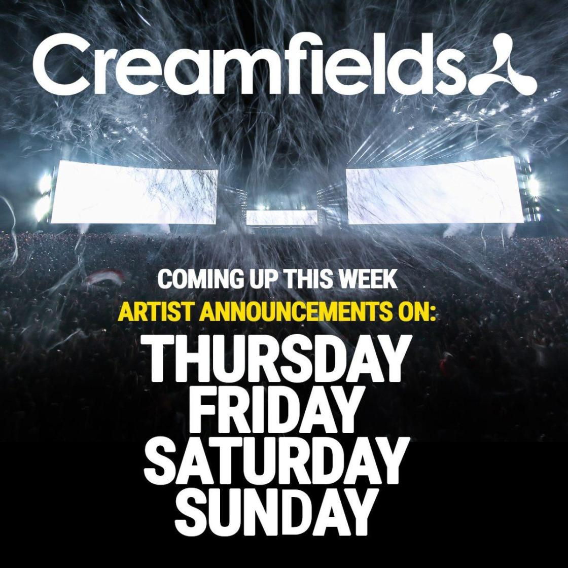 HUGE week ahead! Artist announcements coming this Thursday, Friday, Saturday &am...