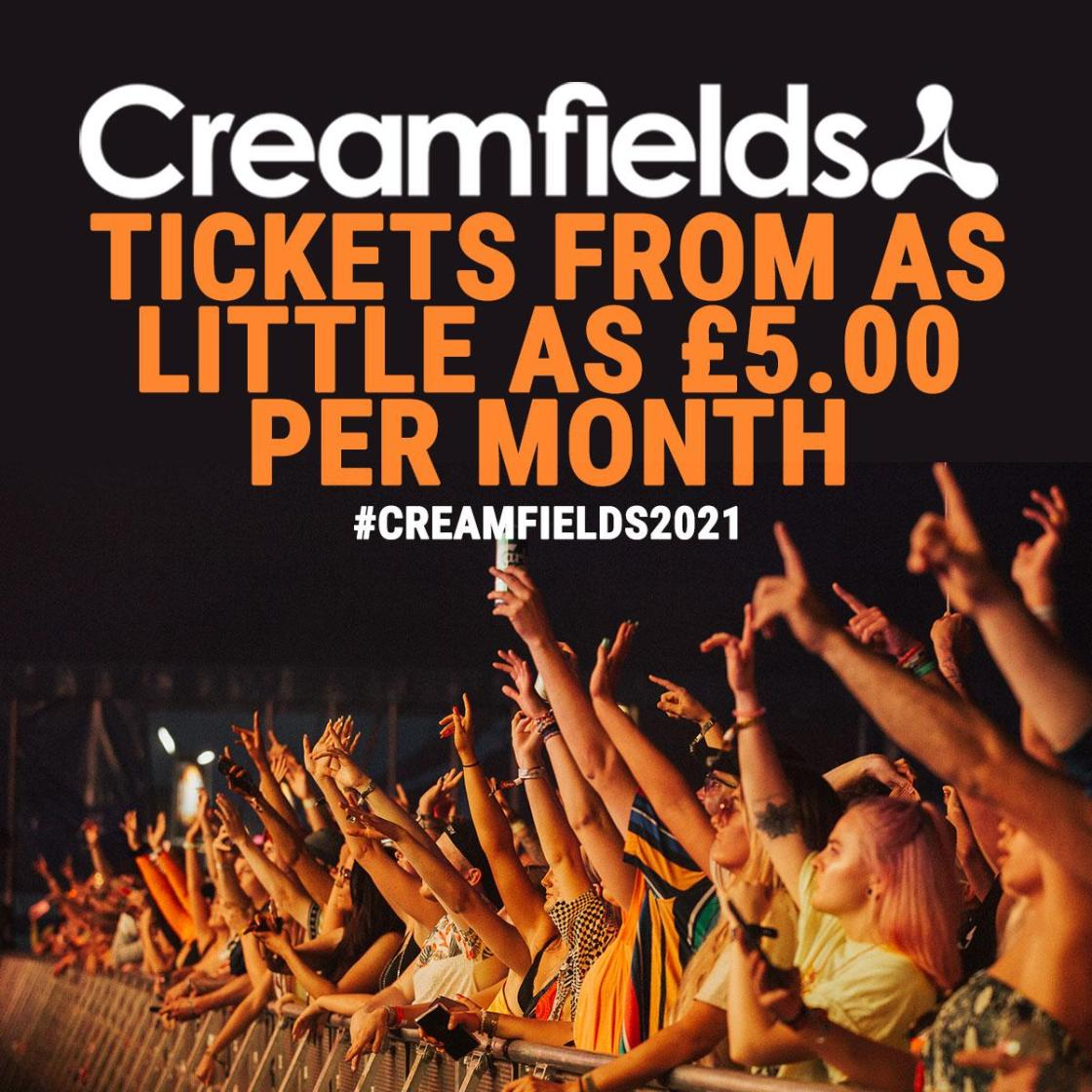 Is there anything better than being down the front at #Creamfields? We think not...