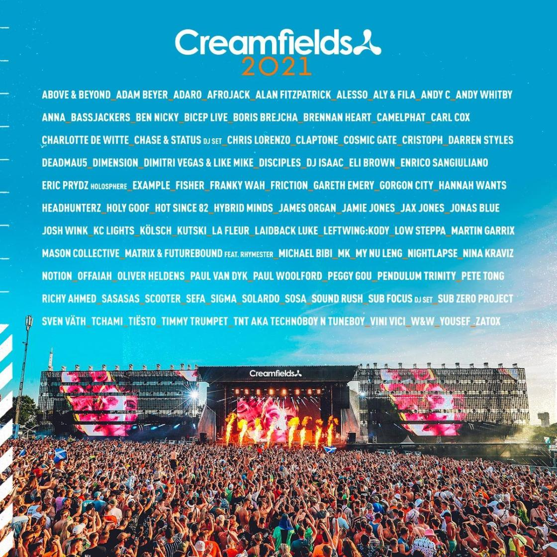 #Creamfields2021...