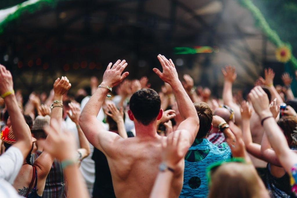 It's always time for a boogie, hands in the air!  Keep those dancing feet going;...