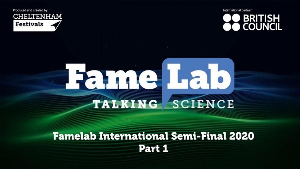 FameLab International Semi-Final 2020 – Part 1
