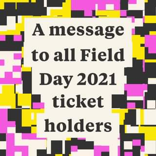 To our Field Day community,...