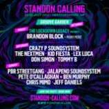 """May be an image of text that says """"STANDON CALLING 22-25 JULY 2021 HERTFORDSHIRE, UK GROOVE GARDEN RETURNS! FRIDAY THE LOCKDOWN LEGACY PRESENTS BRANDON BLOCK+ MANY MORE SATURDAY CRAZYP SOUNDSYSTEM THE NEXTMEN KID FIESTA LEX LUCA DON SIMON TOMMY B SUNDAY PBR STREETGANG JALAPENO SOUNDSYSTEM PETE O'CALLAGHAN BEN MURPHY CHRIS MIMO JEFF DANIELS JOIN THE NOW STANDON CALLING.COM /STANDONCALLING"""""""