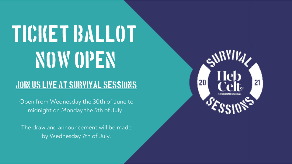 Survival Sessions live event ticket ballot...