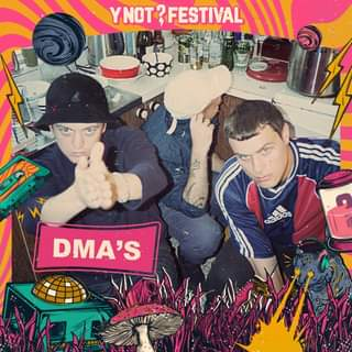 """May be an image of 2 people and text that says """"YNOT? m adidas DMA'S"""""""