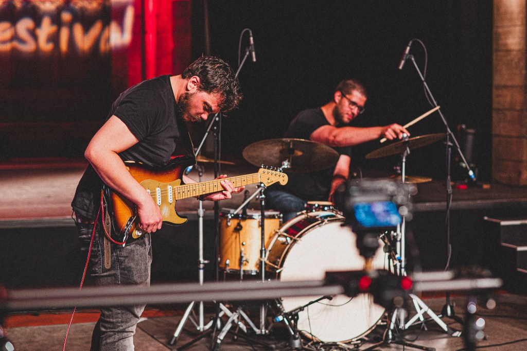 Check out these behind the scenes shots of Kultura, one of the bands playing at ...