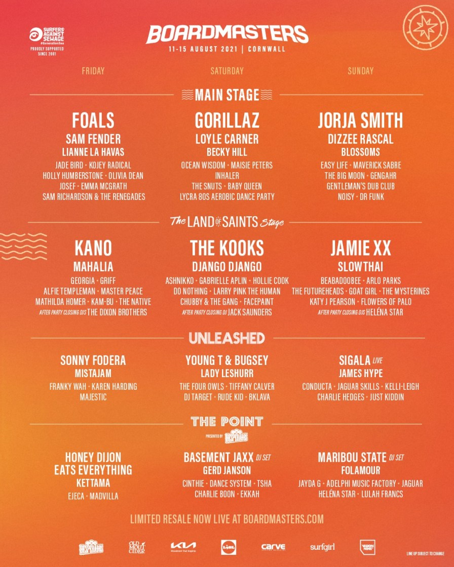 Your official #Boardmasters2021 Ticket Resale & Stage Splits have arrived! Choose from…...