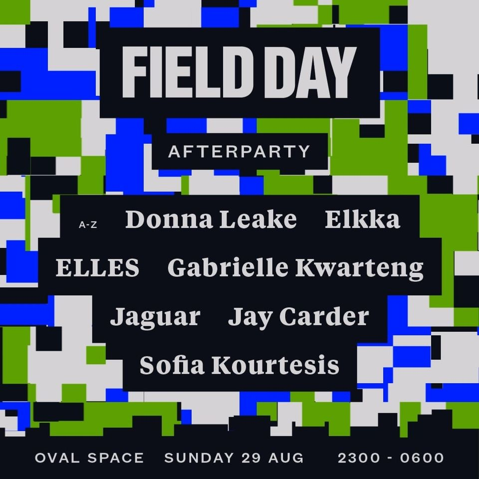 The Field Day 21 afterparty has arrived!  To celebrate our return to Victoria Pa...