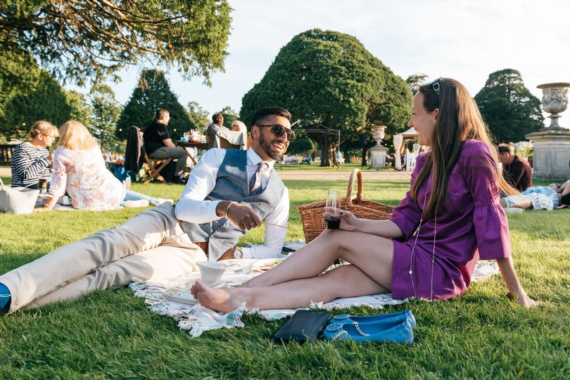 Set yourself up for the evening with a picnic and drinks. The perfect pre-concer...