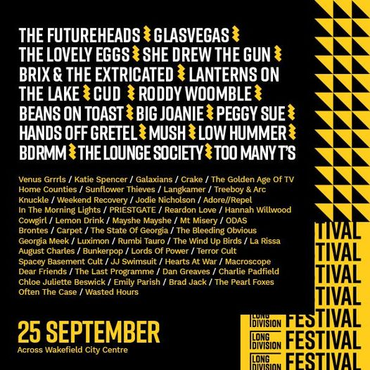 Today we bring you our final announcements for Long Division Festival 2021. We d...