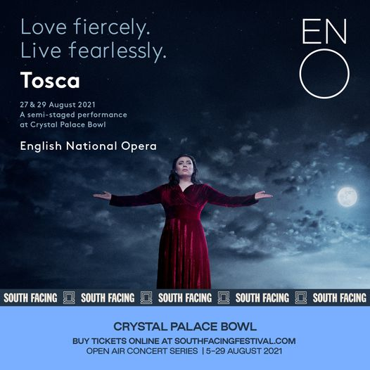 The English National Opera come to South Facing this weekend to perform Tosca, a roller coaster stor...