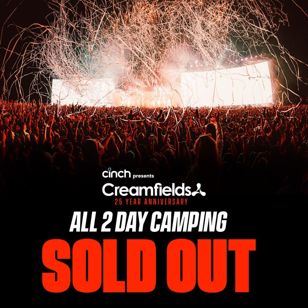 All 2 Day Camping & Dreamfields SOLD OUT! #cinchxCreamfields...