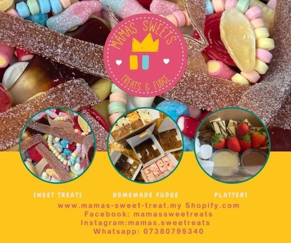 We are pleased to have Mamas Sweets Treats & Fudge at the Festival this year...