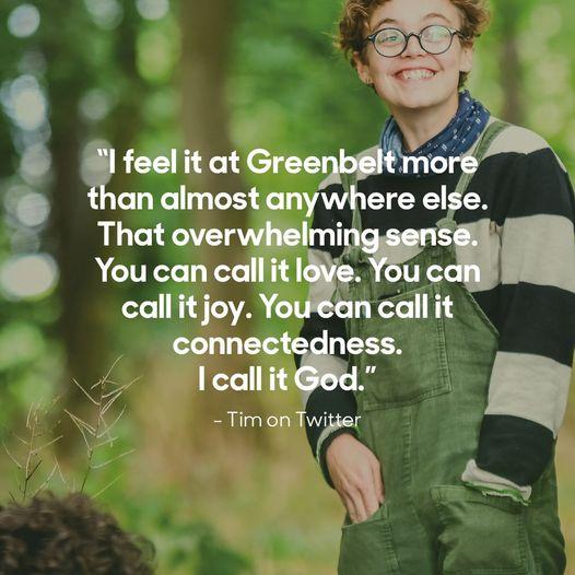 Bishop Roger Morris was recently reminded at Prospect Farm why he loves Greenbel...