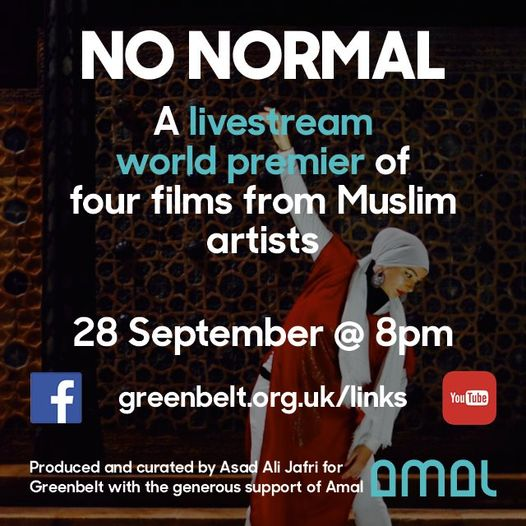 Please join us next Tuesday, September 28, at 8pm UK time for 'No Normal' – a wo...