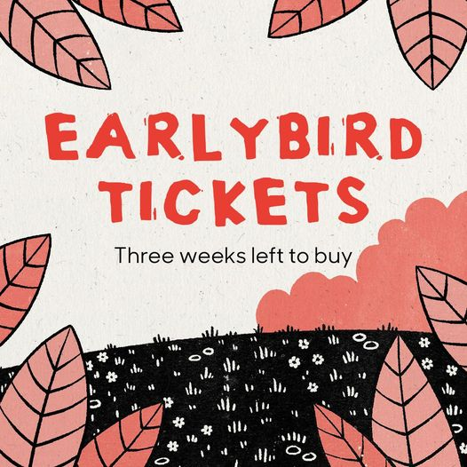 You've got just three weeks left to get your earlybird tickets for Greenbelt Fes...