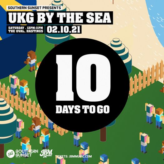 HERE WE GO!!!! UKG By The Sea is now just TEN DAYS AWAY!  Don't wait on tickets, get yours HERE...