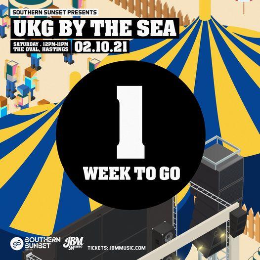 JUST ONE WEEK UNTIL UKG BY THE SEA!...