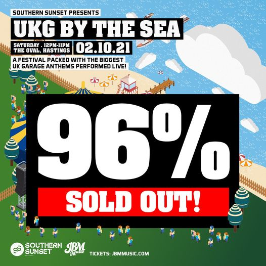 Now's your FINAL CHANCE for tickets for UKG By The Sea this Saturday! Tickets are now 96% SOLD OUT! ...