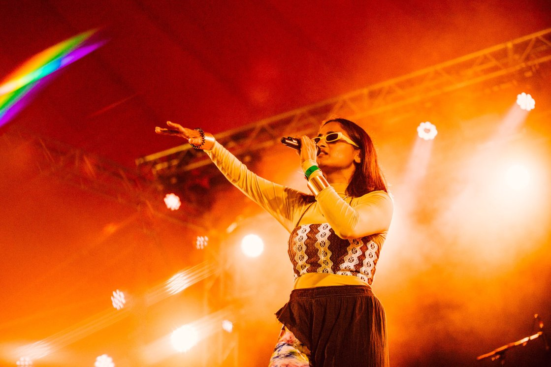Priya Ragu owned the stage during her debut UK festival performance at Latitude ...