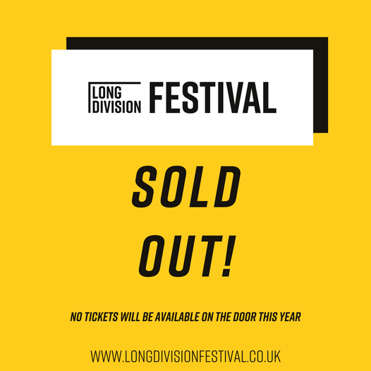Saturday 25th is now completely sold out online! The last few tickets for the fe...