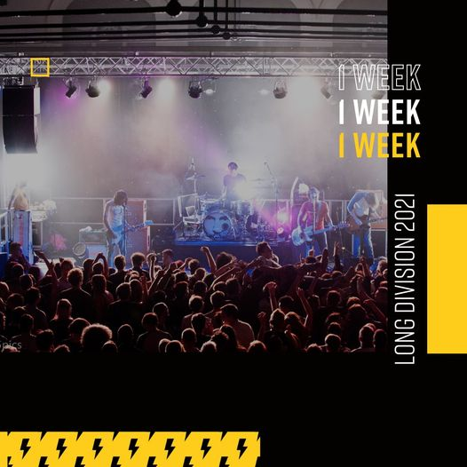 We're in the one week countdown!  In just seven short days, Long Division will b...