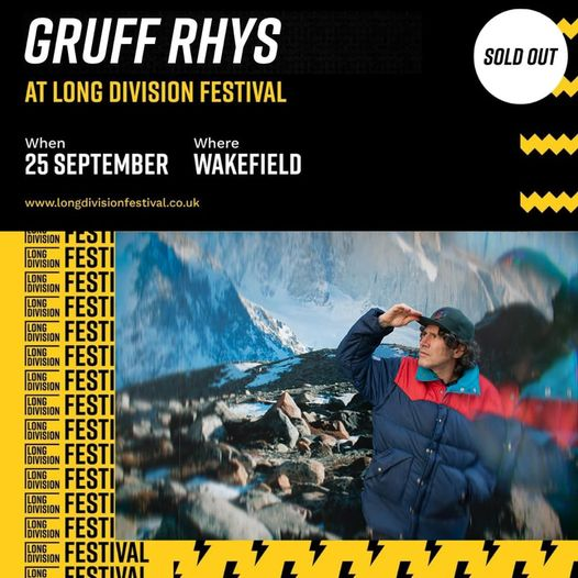 We're very happy to announce that the wonderful Gruff Rhys has heroically steppe...