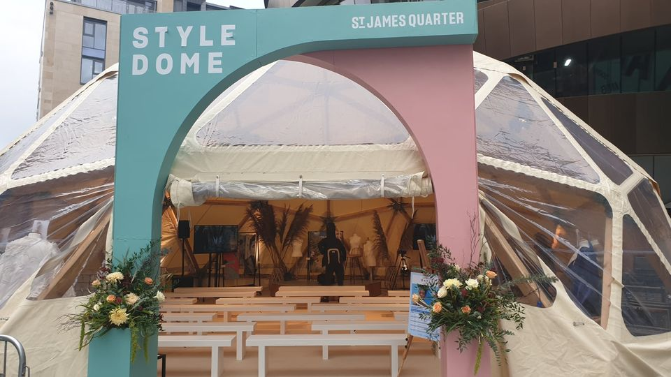 We are delighted to continue our programme partnership with St James Quarter by ...