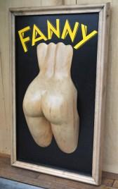 Sculpture Guy Lafond. Fanny. Exposition Hors les Normes 2016, Praz-sur-Arly.