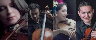28. Cuarteto Q-Arte, Colombia - Mauricio Arias, piano, Colombia - Alexandr Sanko, contrabajo, Rusia