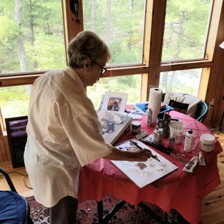 Blog Photo - FOTA Judy painting