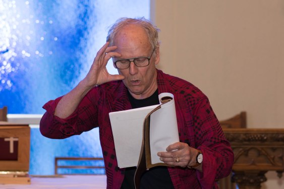 Blog Photo - FOTA Ted Amsden Performing Poetry
