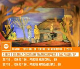 O SECO | Cia Mala Caixeta de Teatro Surpresa | São Paulo / SP