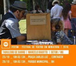 TABULEIRO DE BARRO | Marcelo Baiotto | Betim / MG