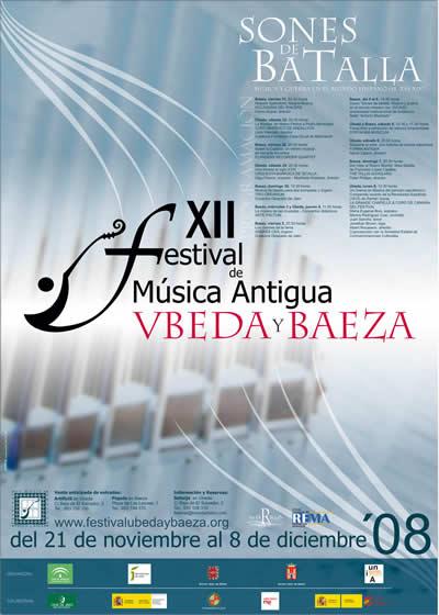 Cartel XII FeMAUB 2008