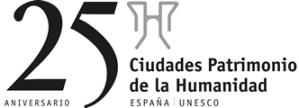 25 aniversario ciudades patrimonio