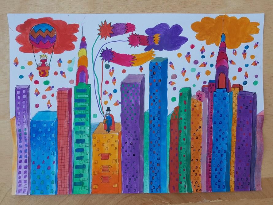 Orașul Magic al Copilăriei Mele
