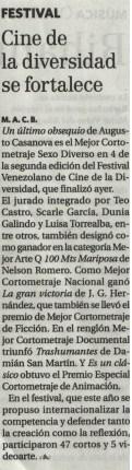 El Nacional. Escenas 5. (08/09/2012)
