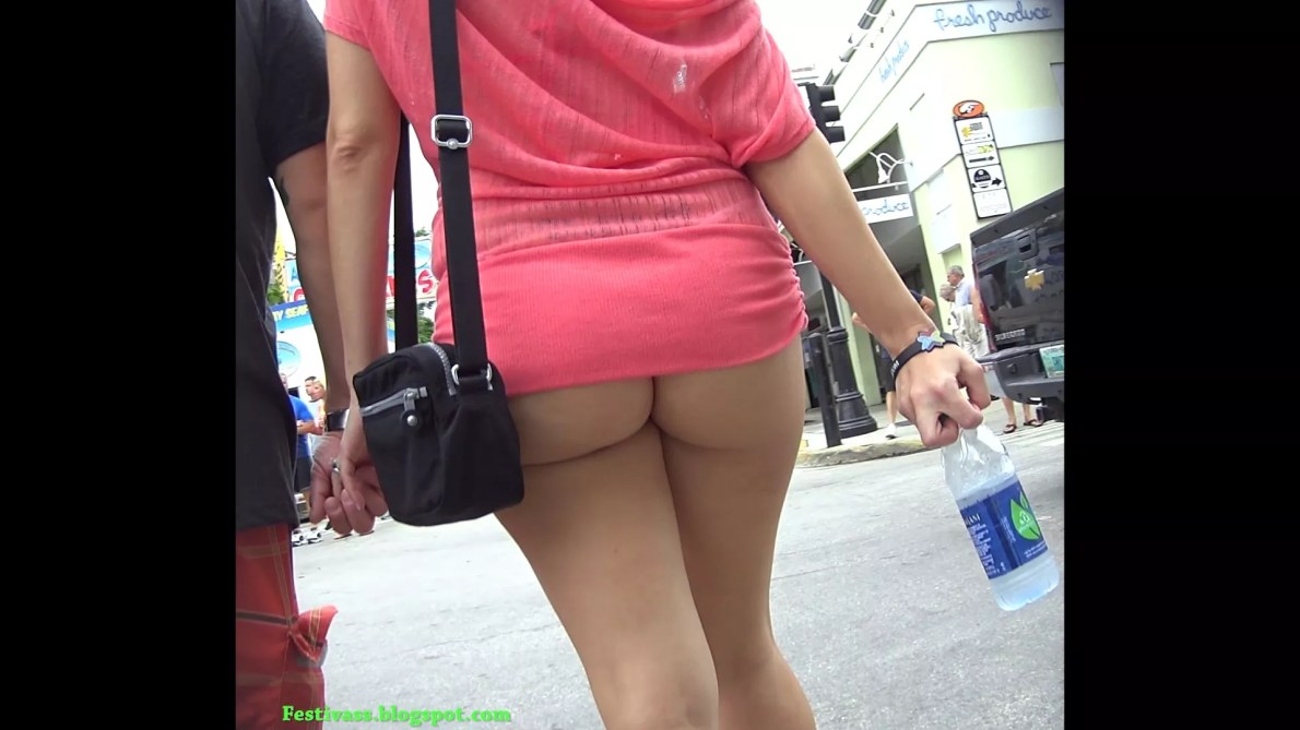 Sexiest In Short Dress String Thong And Bra