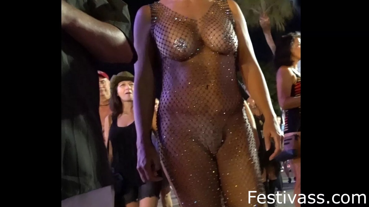 Hot Fishnet Dress