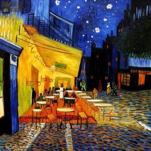 Van Gogh: Éjjeli kávézó