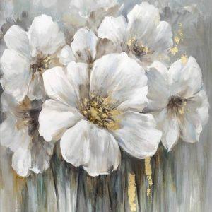 Arany-fehér virágok