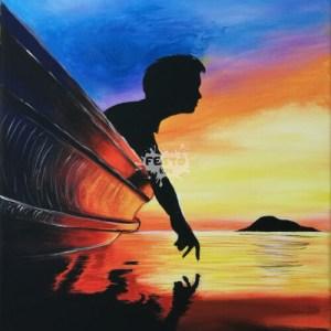 Egy csónakban - férfi