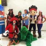 personagem pra festa infantil jake e os piratas da terra do nunca