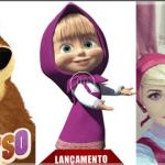 personagem para festa infantil Masha e o Urso