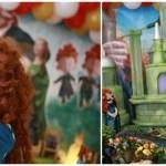 personagens para festa infantil valente
