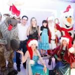 personagem pra festa infantil frozen no natal