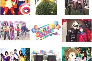 +Personagens Infantis e shows para festas e eventos infantis